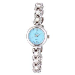 Cardy női karóra, quartz, ezüst színű tok, ezüst színű fémcsat, kék számlap