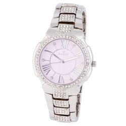 Cardy női karóra, quartz, ezüst színű tok, ezüst színű fémcsat, rózsaszín színű számlap