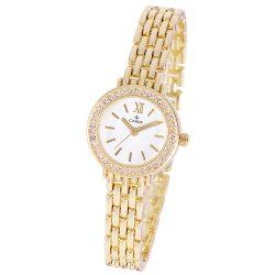 Cardy női ékszeróra, quartz, arany színű tok és csat, fehér színű számlap