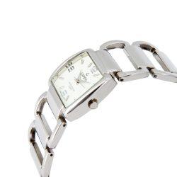 Cardy női ékszeróra, quartz, ezüst színű tok, ezüst színű fémcsat, fehér számlap