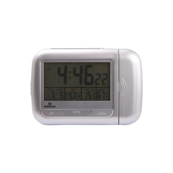 Merion projektoros asztali óra, LCD, egy lámpás