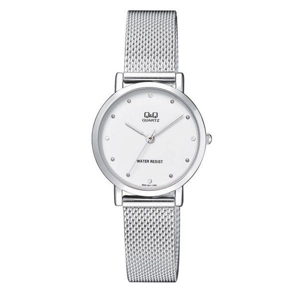 Q&Q női fémcsatos karóra, quartz, ezüst színű, QA21J211Y