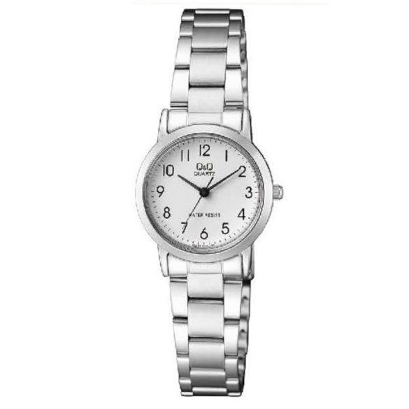 Q&Q női fémcsatos karóra, quartz, ezüst színű, QA39J204Y