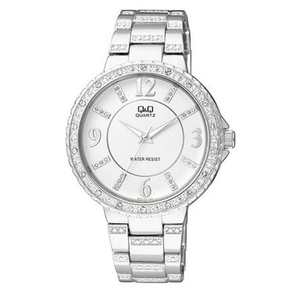 Q&Q női ékszeróra, quartz, ezüst színű, F507-204Y