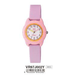 Q&Q gyerek karóra, quartz, lila/rózsaszín színű, VR97J002Y
