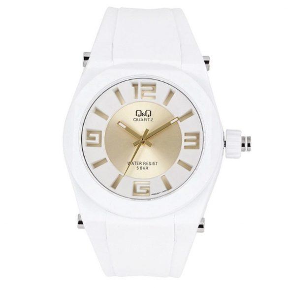 Q&Q női műanyag karóra, quartz, fehér színű, VR32J011Y