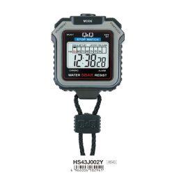 Q&Q stopperóra, LCD, 1 részidő (lap)
