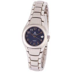 ASTRON 5059-2 divatos női karóra, ezüst színű nemesacél tok, ezüst színű nemesacél csat, arab számos kék számlap, zafírüveg üveges, quartz szerkezet, 50 m (5 ATM) vízállóság