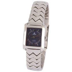 ASTRON 5135-2 női karóra, ékszeróra, ezüst színű nemesacél tok, ezüst színű nemesacél csat, arab számos kék számlap, keményített ásványüveg, quartz szerkezet, cseppmentes vízállóság