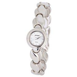 ASTRON 5181-7 női karóra, ékszeróra, ezüst színű fém tok, ezüst színű fémcsat, ezüst színű számlap, keményített ásványüveg, quartz szerkezet, cseppmentes vízállóság
