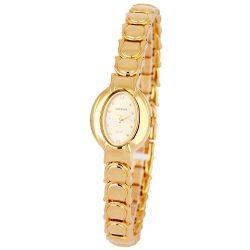 ASTRON 5186-9 női karóra, ékszeróra, arany színű nemesacél tok, arany színű fémcsat, arany színű számlap, keményített ásványüveg, quartz szerkezet, cseppmentes vízállóság