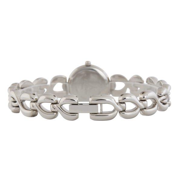 ASTRON 5250-1 női karóra, ezüst színű fém tok, ezüst színű fémcsat, fekete számlap, keményített ásványüveg, quartz szerkezet, cseppmentes vízállóság