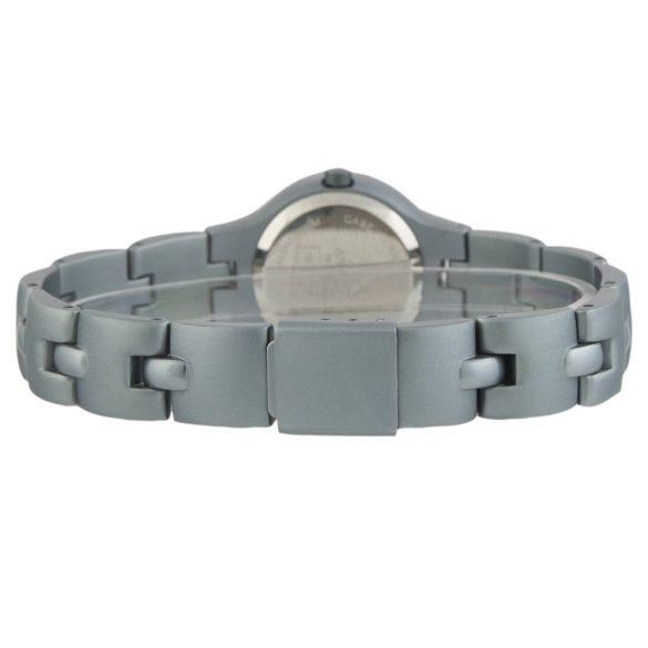 ASTRON 5261-3 női karóra, ékszeróra, szürke színű alumínium tok, ezüst színű alumínium csat, ezüst színű számlap, keményített ásványüveg, quartz szerkezet, cseppmentes vízállóság