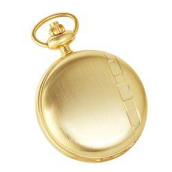 Astron férfi zsebóra, quartz, arany színű, római számos
