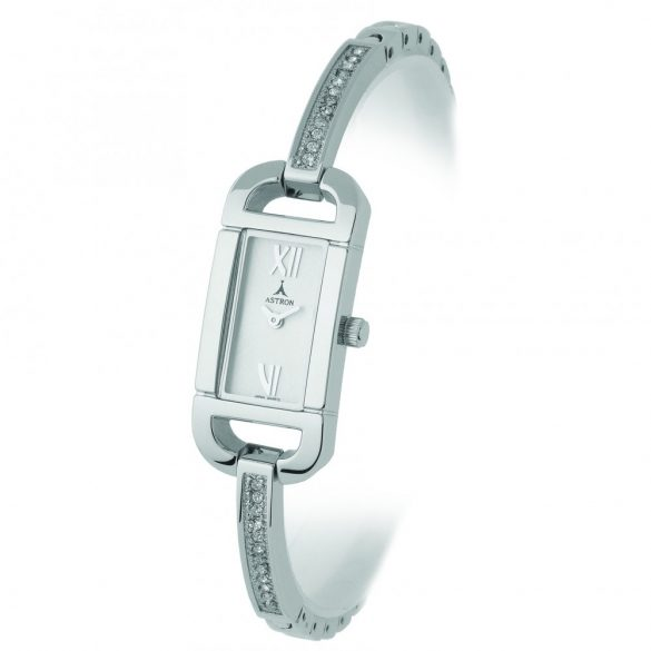 ASTRON 5431-8 női karóra, ezüst színű fém tok, ezüst színű fémcsat, ezüst színű számlap, keményített ásványüveg, quartz szerkezet, cseppmentes vízállóság