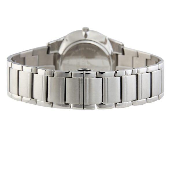 ASTRON 5512-1 elegáns férfi karóra, ezüst színű nemesacél tok, ezüst színű nemesacél csat, fekete számlap, zafírüveg, quartz szerkezet, cseppmentes vízállóság