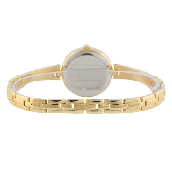 ASTRON 5514-9 női karóra, ékszeróra, arany színű nemesacél tok, arany színű nemesacél csat, pezsgőszínű számlap, zafírüveg, quartz szerkezet, cseppmentes vízállóság