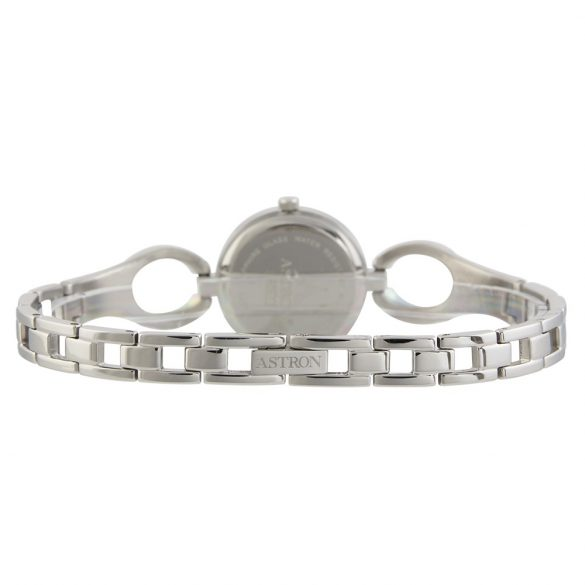ASTRON 5529-7 női karóra, ezüst színű nemesacél tok, ezüst színű nemesacél csat, fehér számlap, zafír, quartz szerkezet, cseppmentes vízállóság