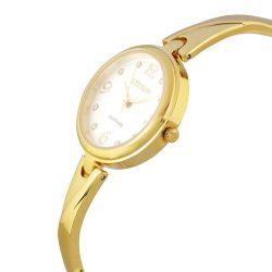 ASTRON 5530-8 női karóra, arany színű nemesacél tok, arany színű nemesacél csat, ezüst színű számlap, zafír, quartz szerkezet, cseppmentes vízállóság
