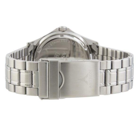 ASTRON 5558-3 férfi karóra, ezüst színű nemesacél tok, ezüst színű nemesacél csat, zöld számlap, keményített ásványüveg, quartz szerkezet, 50 m (5 ATM) vízállóság