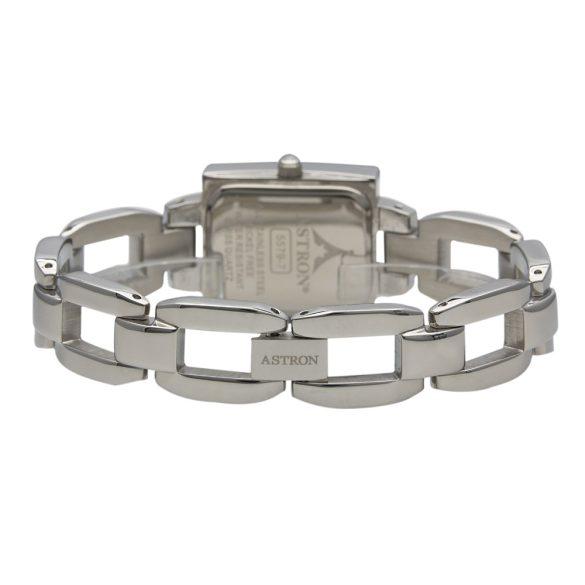 ASTRON 5579-1 női karóra, ezüst színű fém tok, ezüst színű fémcsat, fekete számlap, keményített ásványüveg, quartz szerkezet, cseppmentes vízállóság