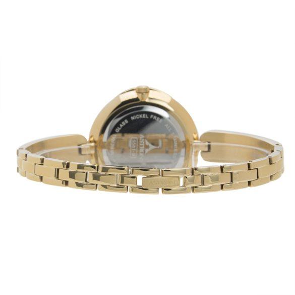 ASTRON 5581-9 analóg női karóra, arany színű nemesacél tok, arany színű nemesacél szíj/csat, pezsgőszínű számlap, keményített ásványüveg, quartz szerkezet, 50 m (5 ATM) vízállóság