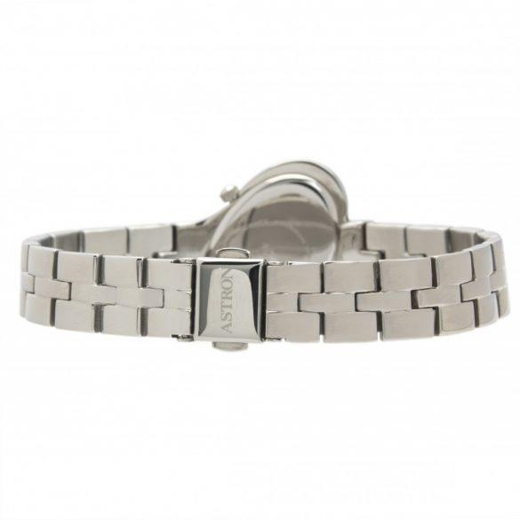 ASTRON 5593-1 női karóra, ezüst színű nemesacél tok, ezüst színű nemesacél csat, fekete számlap, keményített ásványüveg, quartz szerkezet, cseppmentes vízállóság