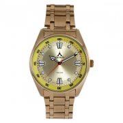 ASTRON 5594-9 férfi karóra, arany színű nemesacél tok, arany színű nemesacél csat, pezsgőszínű számlap, keményített ásványüveg, quartz szerkezet, 50 m (5 ATM) vízállóság