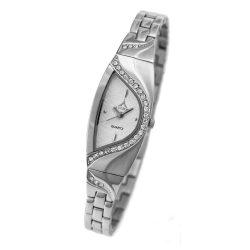 ASTRON 5705-8 női karóra, ezüst színű nemesacél tok, ezüst színű fémcsat, fehér számlap, keményített ásványüveg, quartz szerkezet, cseppmentes vízállóság