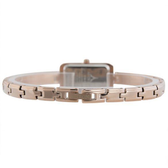 ASTRON 5748-0 női karóra, rózsaarany színű fém tok, arany színű fémcsat, fehér számlap, keményített ásványüveg, quartz szerkezet, cseppmentes vízállóság