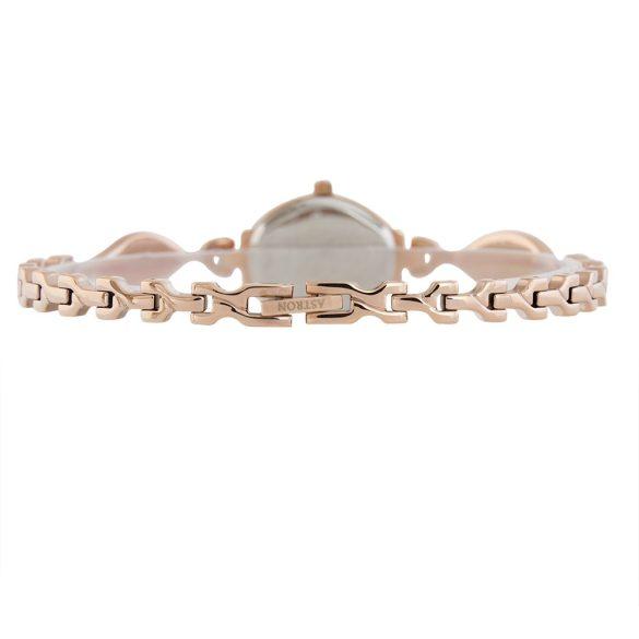 ASTRON 5749-0 női karóra, rózsaarany színű fém tok, arany színű fémcsat, fehér számlap, keményített ásványüveg, quartz szerkezet, cseppmentes vízállóság