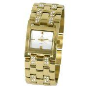 ASTRON 5783-0 női karóra, arany színű nemesacél tok, arany színű fémcsat, ezüst számlap, keményített ásványüveg, quartz szerkezet, cseppmentes vízállóság