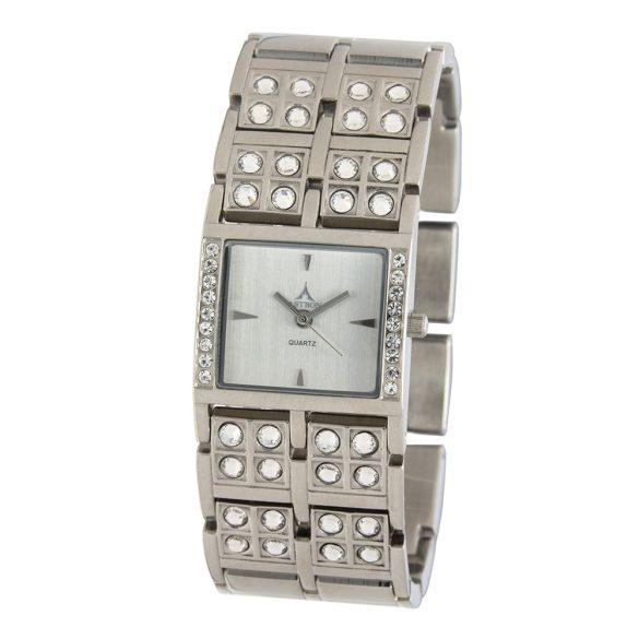 ASTRON 5784-8 női karóra, ezüst színű nemesacél tok, ezüst színű fémcsat, gyöngyház színű számlap, keményített ásványüveg, quartz szerkezet, cseppmentes vízállóság