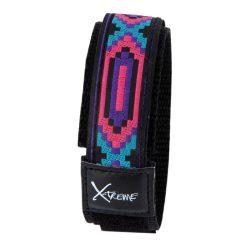 X-treme szíj, 033, kék / lila + rózsaszín, mintás