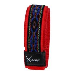 X-treme szíj, 199, piros-kék mintás