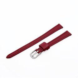 Karóra szíj, piros színű, 65+105 mm/ 10 mm