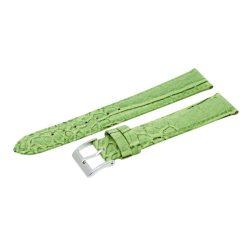 Karóra szíj, zöld színű, 85+125 / 20 mm