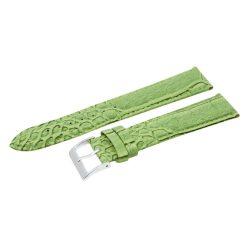Karóra szíj, zöld színű, 85+125 / 22 mm