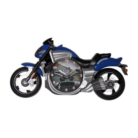 Figurás falióra (kék motor)