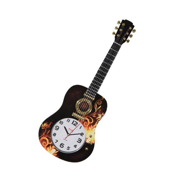 Figurás falióra (gitár)