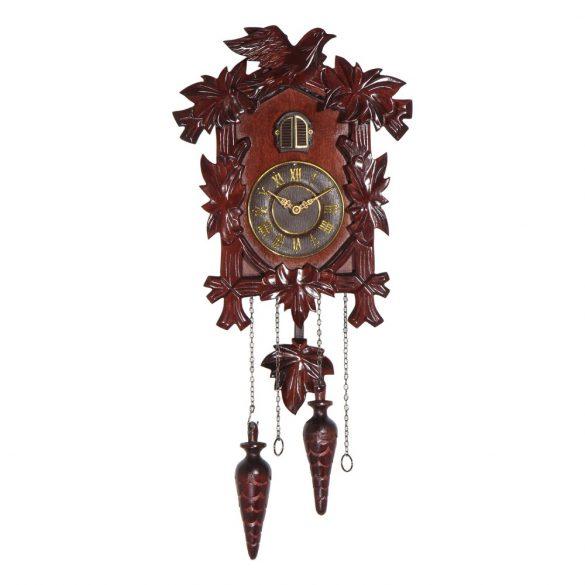 Merion fa kakukkos óra, quartz, tölgy színű