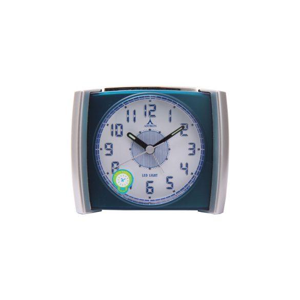 Astron ébresztőóra, quartz, fekete, LED-es számlap