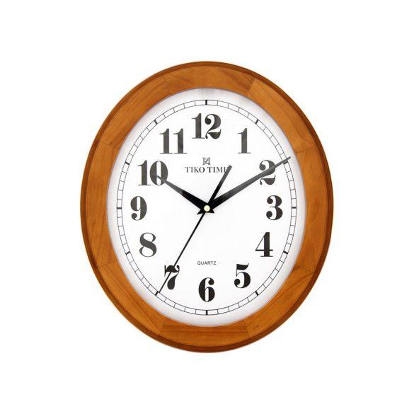 Tiko Time fa falióra, quartz, körte (ovális)