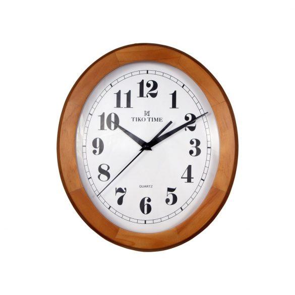 Tiko Time fa falióra, quartz, dió (ovális)