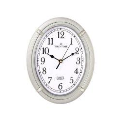 Tiko Time falióra, quartz, ezüst színű, sweep