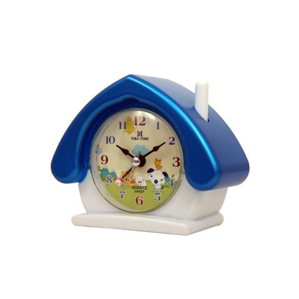 Tiko Time Figurás ébresztőóra, quartz (házikó)