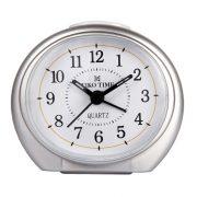 Tiko Time ébresztőóra, quartz, ezüst színű