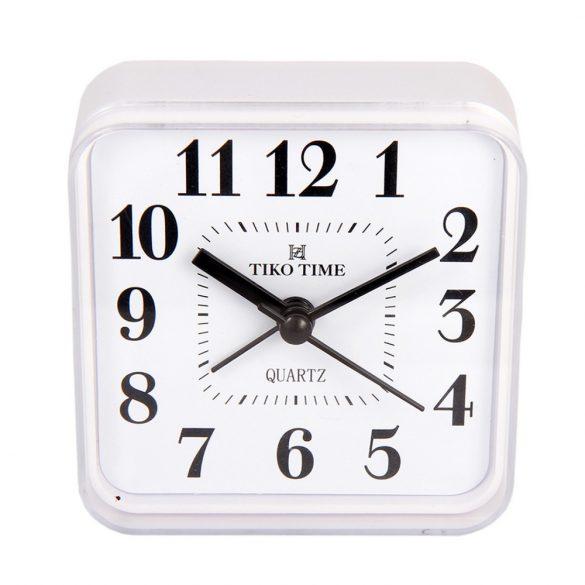 Tiko Time ébresztőóra, quartz, fehér színű