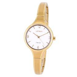 ASTRON 8023-8 női karóra, ékszeróra, ezüst színű titánium tok, ezüst színű titánium csat, ezüst színű számlap, keményített ásványüveg, quartz szerkezet, cseppmentes vízállóság