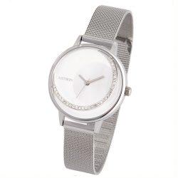 ASTRON 8032-8 női karóra, ékszeróra, ezüst színű nemesacél tok, ezüst színű nemesacél csat, különleges számlap, keményített ásványüveg, quartz szerkezet, cseppmentes vízállóság